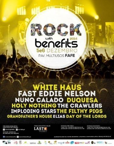 Rock with benefits em Fafe