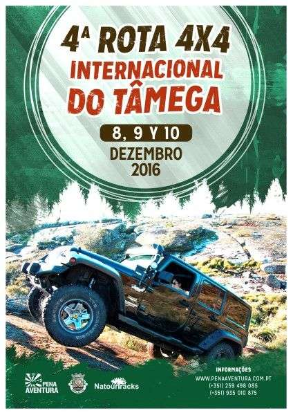 4ª Rota 4x4 Internacional do Tâmega