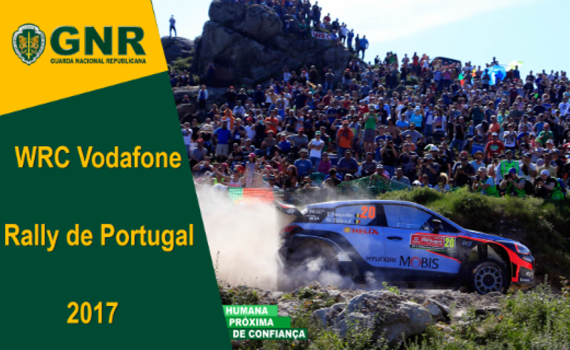 GNR no Rally de Portugal