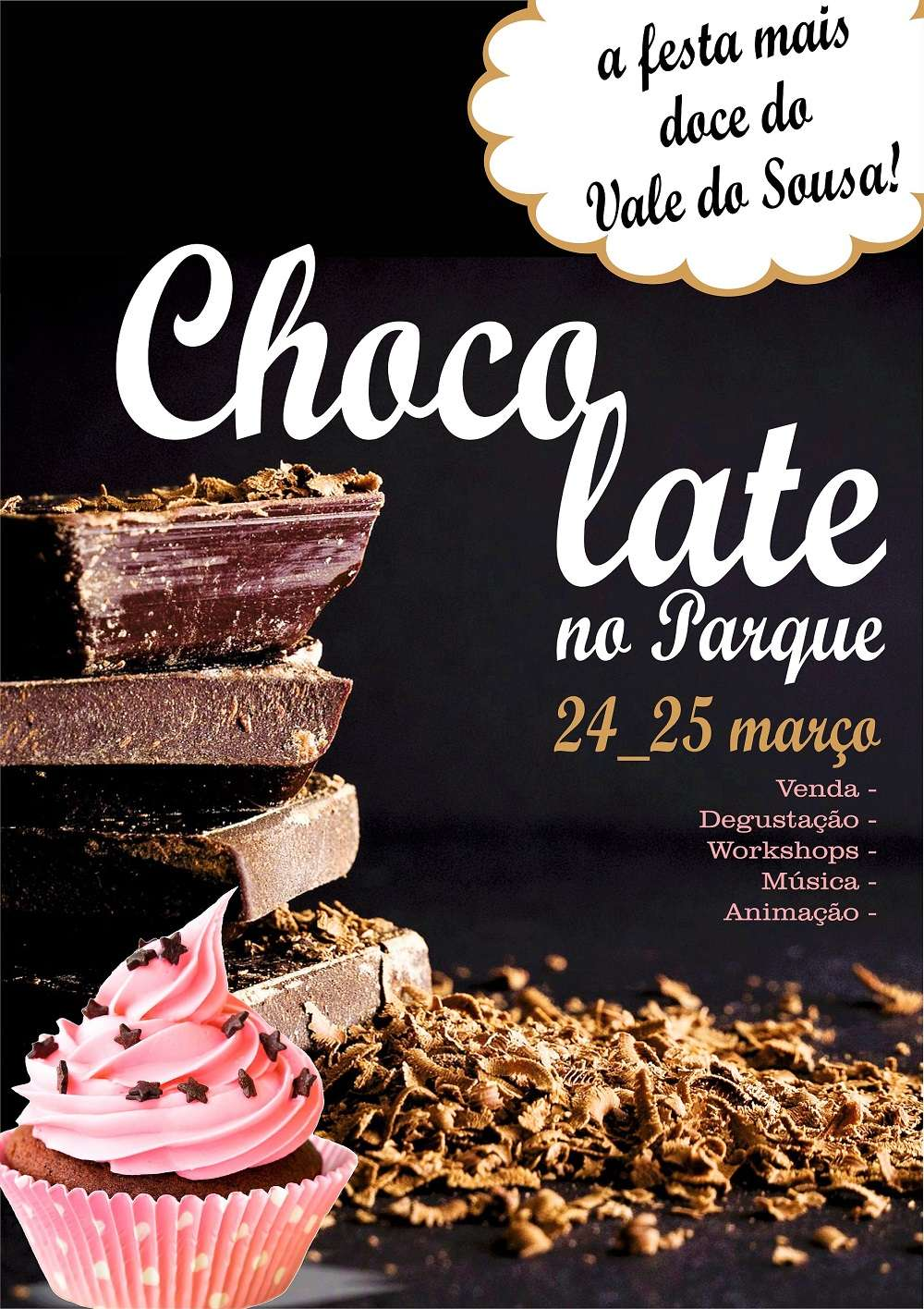 Chocolate no Parque