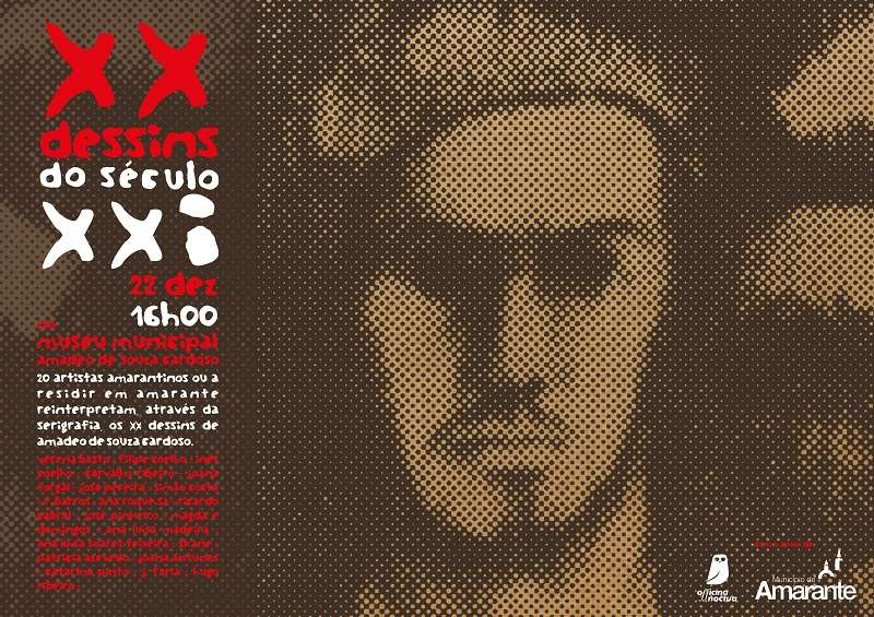 Officina Noctua apresenta XX Dessins do século XXI no Museu Municipal